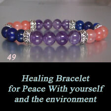 Peace With Yourself &The Environment Chakra Healing Gemstone Bracelet