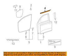 TOYOTA OEM Tundra-Door Window Sweep-Belt Molding Weatherstrip Right 681600C020