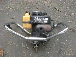 Tecumseh 2 Cycle Gas Powered Ice Auger Power Head 33cc - Runs Good