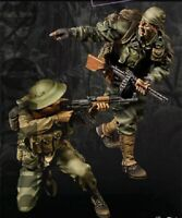 1/35 Resin Figure Model Kit Vietnam War NVA Infantry On Battlefield Unpainted