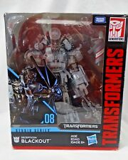 Transformers Studio Series Blackout Leader Action Figure #08 DECEPTICON BLACKOUT