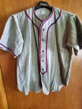 Vintage 1950s Amco blank wool Baseball Jersey
