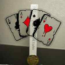 Transparent Poker Sticker Guitar Skateboard Bike Car Laptop Computer Vinyl Decal