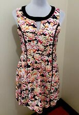 Ladies MINKPINK Floral Viscose Dress. Size Med. EUC