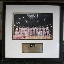 ADIDAS FRAMED PHOTO NBA OPENING NIGHT BULLS vs HEAT Oct. 31, 2006 RARE