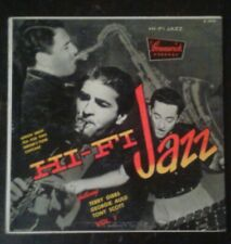 "TERRY GIBBS & TONY SCOTT Georgie Auld Hi-Fi Jazz Vol 1 10"" LP VG+"