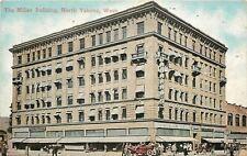 North Yakima Washington~Cahalin Co in Miller Bldg~Land Company~ c1910 Postcard