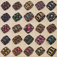Wooden Beads Magic Stretchy Hair Accessories Women Clip Hairpins Style Random