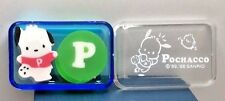 New Old Stock Vintage Sanrio Pochacco Erasers in Plastic Case Made in Japan