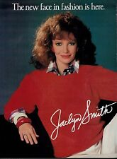 1985 JACLYN SMITH for Kmart   FASHION Magazine  PRINT AD  (2-pg)