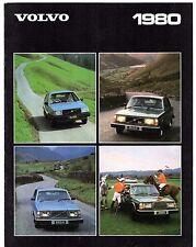 Volvo 1979-80 UK Market Sales Brochure 343 345 244 245 264 265 262C