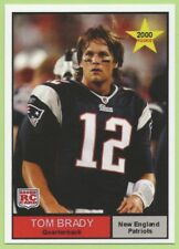 Lot of 25 Tom Brady Rookie Year Cards