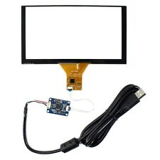 "6.2"" Capacitive Tocuh Panel 155mmx88mm for 6.2"" 800x480 LCD Screen"