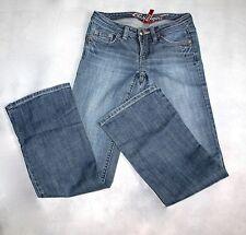 Esprit Damen-Bootcut-Jeans aus Denim mit niedriger Bundhöhe (en)