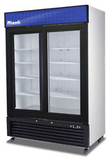 Migali C-49Rs-Hc Two Door Refrigerator Glass Door Merchandiser