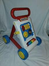 Fisher Price Stroller Along Portable Walker Toddler Learning ABC Colors Toys