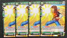 4x Twin Brother Andriod 17 BT2-089 Common Dragon Ball Super TCG NM