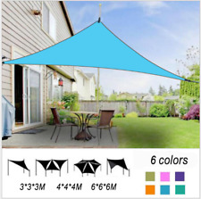 98% UV Block Greenbay Sun Shade Sail Garden Patio Sunscreen Awning Canopy Screen