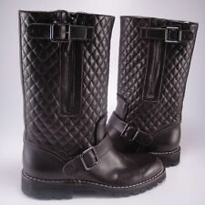 chanel boots. knee high boots chanel
