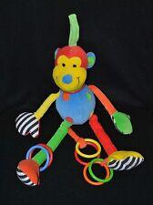 Peluche doudou singe d'activités Hoopy Loopy JELLYCAT JELLY KITTEN 35 cm TTBE