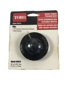"NOS Genuine Toro 88015 Weedeater Spool & String 30ft .050"" 1010 Trimmer"