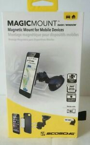 SCOSCHE MAGWSM2 MAGICMOUNT DASH/WINDOW SUCTION MOUNT FOR MOBILE DEVICES CAR