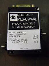 General Microwave 3492-5003 Programmable RF Attenuator 2.2-2.3Ghz