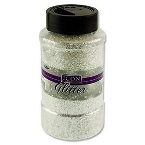 Icon Glitter - White. 450g.