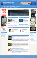 TELEVISION GUIDE - Professionally Designed Affiliate Website - Free Installation