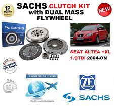 FOR SEAT ALTEA 5P1 5P5 5P8 1.9 TDi + XL CLUTCH KIT 2004-ON SACHS with FLYWHEEL