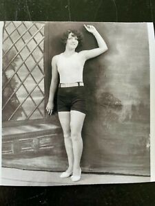 Vintage photo Sexy woman Posing in tight top, Cheesecake/ Pinup Girl, Risque