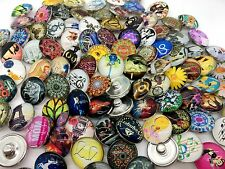 15pcs Charm Snap Button 18MM Interchangeable Ginger Snap Jewelry Mixed Style Lot
