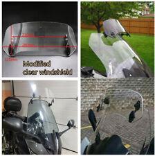 Adjustable Motorcycle Windscreen Windshield Extension Spoiler Air Deflector