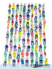 Scale HO 1:87 Sitting Figures Zittende Figuren 100 Pcs -P120