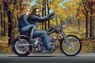 David Mann #Ghost Rider Art Silk Poster 005 Wall Decor Poster , no Framed
