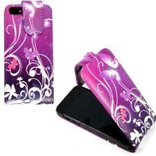 Fundas y carcasas color principal blanco de piel sintética para teléfonos móviles y PDAs