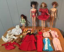 Vintage 60s Bubble Cut Barbie Midge Doll Red Hair Mattel Francie Tutti Lot
