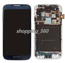 For Samsung Galaxy S4 L720 i545 R970 LCD Screen Touch Digitizer+Frame BLUE USPS