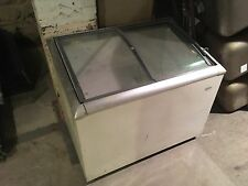 Ice Cream Freezer Reach-In Pizza Frozen Foods Tested - Working Frigidaire