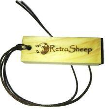 RetroSheep Natural Wood COCONUT Scented charm Car Air Freshener fragrance Oil