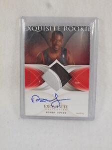 2006 Panini exquisite Rookie Bobby Jones numbered 077/225 autograph