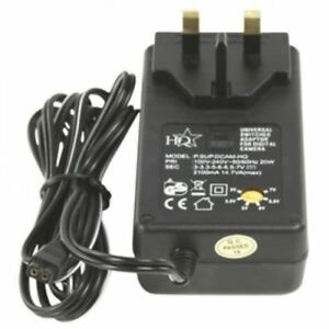 HQ UNIVERSAL 100-240V AC FOR UK, USA, EU, TO DC SWITCHING POWER ADAPTER + 7 TIPS