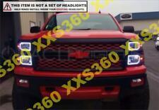 ORACLE Headlight HALO RING KIT for Chevrolet Silverado Non/Pro 14-15 WHITE LED
