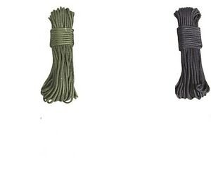 Stark 5mm 50ft 15 Meter Purlon Dienstprogramm Seil Bivi Bivvi Nylon Schnur