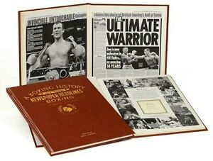 PERSONALISED BOXING NEWSPAPER Book History Gifts Present of Memorabilia for fan