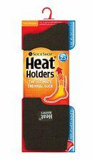 Mens Original Heat Holder 2.3 tog Thermal Socks 6-11 uk,39-45 eu, 7-12 us Green