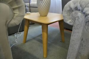 Retro Side Table in Oak 1960's Style Lamp Table Hampton