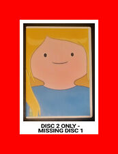 MISSING DISC1,but MINT DISC2:Adventure Time:Season 1 DVD,with Case