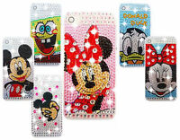 DIAMANTE BLING DIAMOND DISNEY CASE COVER VARIOUS MOBILE PHONES 5 6 7 8 X S8 S9