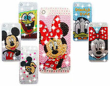 DIAMANTE BLING DIAMOND DISNEY CHARACTER CASE COVER VARIOUS MOBILE PHONES 5 6 7 8
